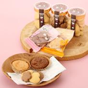 クッキー焼き菓子詰合せセット特定原材料(アレルギー物質27品目)不使用〔クッキー3個、もちっ粉ケーキ4個〕