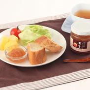 果肉たっぷり 旨みをギュッと濃厚に〈 ももジャム 〉 | 明陽食品工業有限会社・福島県