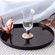 伝統工芸が和洋の空間を自然につなぐ〈 冷酒グラス 〉フラワーハウス | 清峰堂株式会社・石川県