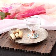 九谷和グラス 食卓に新しい華やかさ〈 馬上グラス 〉宝尽し | 清峰堂株式会社・石川県