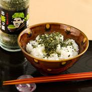 お茶農園のこだわり 健康に食べれる〈 お茶っ葉ふりかけ 〉卓上用・瓶 | 有限会社山輝園・佐賀県