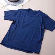 自然と植物の恩恵 丁寧な手仕事の賜物〈 本藍染め 肌着 〉 | 株式会社トータス・徳島県