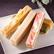 しっとりなめらかの中にサクッと食感〈 和・チーズケーキセット 〉 | 株式会社別子飴本舗・愛媛県