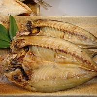 常温保存できる 骨まで食べる焼き魚〔あじ・かます・サバ×各2枚〕