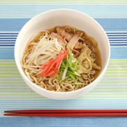 会津の味をご家庭で つるんとさっぱり〈 喜多方冷たいラーメン 〉6人前 | 株式会社オノギ食品・福島県