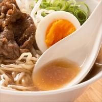 オノギ食品 会津らーめん牛骨スープ付〔(麺110g×4・牛骨スープ40g×4)×2箱〕