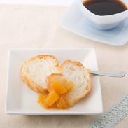 ごろごろが贅沢 噛むほどに甘味が広がる〈 黄金桃ジャム 〉 | 有限会社四季の定期便・新潟県