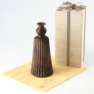 和傘を模した伝統酒器 こだわりの逸品〈 窯変 丹波傘徳利 〉 | 丹波焼窯元丹誠窯・兵庫県