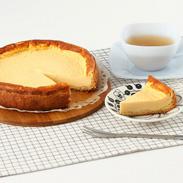 無農薬栽培の亜麻の実を使用! 亜麻仁チーズケーキ