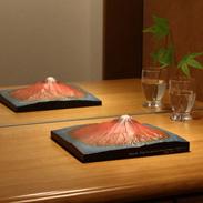 葛飾北斎の かの有名な赤富士がモデル 第二景 赤富士 単体モデル | 株式会社謙信・東京都