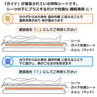 GAINA快適シート|株式会社ROプラス・東京都