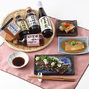 福寿 百年蔵味噌・醤油詰合せ【HBTM】 株式会社浅利佐助商店・秋田県