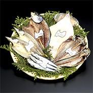 特選 きときと干し詰合せ(A-2)富山県 獲れたての魚を減塩一夜干しでお届け!