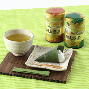 お茶の産地、静岡より 缶入り銘茶詰合せ「金舞・きんまい」