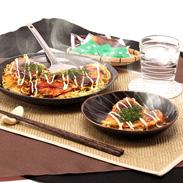 本物の広島焼きを楽しむセット バラエティセット4枚入り