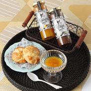 マンゴーとブドウの贅沢なソースセット マンゴー・ブドウソースセット