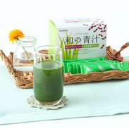 日本古来の芽野菜「紅タデ」と「大麦若葉」がたっぷり 和の青汁 有限会社江島・大分県