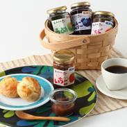 香料、着色料、保存料は不使用! 福井県産フルーツの ジャム6品セット