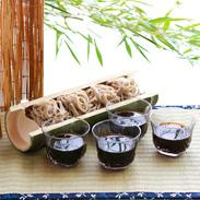 こだわりの水と餌で育った  若狭すっぽんの自然薯そば 若狭すっぽん養殖場・福井県