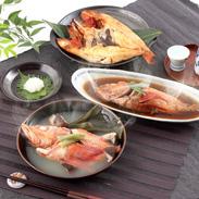 高級魚・きんき三昧 きんき出汁煮と一夜干しと姿煮