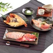 高級魚・きんき三昧 きんき出汁煮と一夜干しと刺身