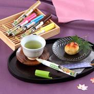 ペン型の携帯粉末容器入りのお茶 好きだっ茶〔静岡一番茶、ルイボス茶、ジャスミン茶、麦茶、ほうじ茶、ウーロン茶〕