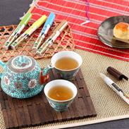 浅原工業 静岡県 ペン型の携帯粉茶 好きだっ茶5本セット〔静岡一番茶・ジャスミン茶・麦茶・ほうじ茶・ウーロン茶〕