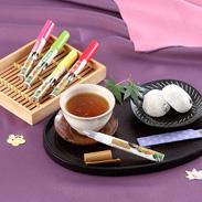 ペン型の携帯粉末容器入りのお茶 好きだっ茶ペン型の携帯粉末容器入りのお茶 好きだっ茶〔静岡一番茶、麦茶、ほうじ茶、ウーロン茶〕