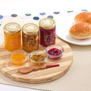 沖縄県産のフルーツを使用した 手づくりまるごとジャム (マンゴー、ドラゴンフルーツ、パッションフルーツ)
