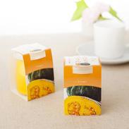 茨城県古河市産のかぼちゃを使用。 かぼちゃのコクと甘味がギュッと詰まった自然そのままの味わい つくばぷりん かぼちゃぷりん 株式会社ふじ屋・茨城県