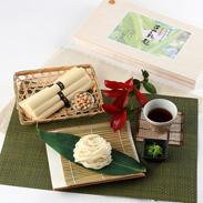 佐賀のおばあちゃんの知恵と思いやりから生まれた豆乳麺 あしかり豆美人豆乳麺詰合せ (KR−35)