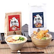 もちもち食感の米粉麺 米のラーメン&うどんセット