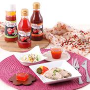 完熟赤ピーマンをたっぷり使用した、 ドレッシング・ソース・タレのセット オラホde赤ピーマン調味料6本セット