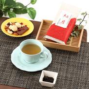 無化学肥料・農薬無し栽培のお茶 月ヶ瀬の国産紅茶「紅月」