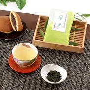 無化学肥料・農薬無し栽培のお茶 月ヶ瀬の香水茶「翠月」