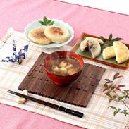 当別母さんのいもだんご汁セット&いもだんごおやき4種セット 有限会社フードストアいしもと・北海道