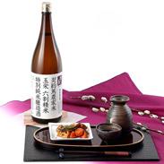 特別契約栽培米100%使用  契約篤農家米 特別純米酒