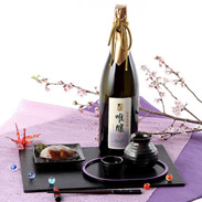 冷で飲むことを前提に作られた 香の泉 純米大吟醸 唯醸 竹内酒造株式会社・滋賀県