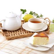 オランダ産ゴーダチーズをたっぷり使用 スフレチーズケーキ