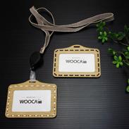 木の温もりを持った IDカード・ケース(All wood) WOOCA