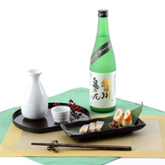 特別に栽培した米、亀の尾から作った純米酒 純米吟醸 朝日川 亀の尾[純米吟醸酒]