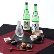 生もと酒母で製造した純米酒と本醸造酒 朝日川生もとセット