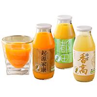 果実味たっぷりのストレートジュース・果汁飲料 柑橘12本セット