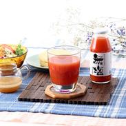 糖度5.5 のトマトを使用  無塩トマト白ラベル24本セット