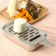 鋭い刃がお料理の美味しさも演出! 銅製おろし金 箱型