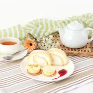 北海道産にこだわった ナチュラルチーズケーキセットとトテッポロールケーキ 十勝トテッポ工房・北海道