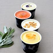 抹茶、胡麻、黒豆、豆乳、醤油 米などの伝統食材を使った 伝統和モダンアイスジェラート