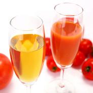 プレミアムな紅白2種のトマトジュース トマトクリスタル・トマトルビー紅白セット