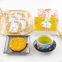さいたまの新名物! うなぎ煎餅&狭山茶詰め合わせギフト