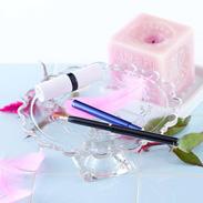 コンパクトで、かつ使いやすい! 携帯用リップブラシ